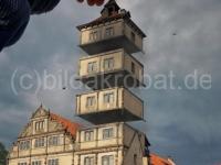 Geschnitten Turm