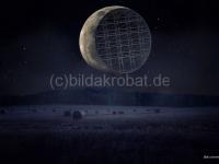 Composing Rückseite des Mondes