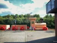 Fotomontage Bahnhof Lemgo
